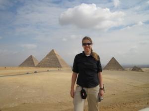 Anja in Cairo